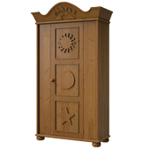 OM Cabinet in the nursery in country style