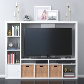 Ikea lappland tv place decor set