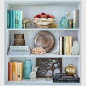 Decorative set / Shelves