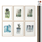 "Postek Set ""Watercolor Plants"""