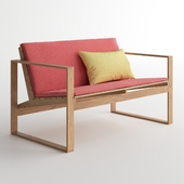 DWR Block Island Two-Seater Sofa Cushion / Double Sofa