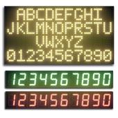 LED display modules. Set 07