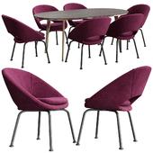 Orb Velvet Dining Chair Westelm