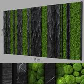 Decorative wall 240.