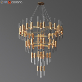 Waterfall chandelier luxxu