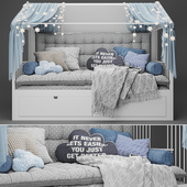 Children's bed - house