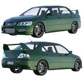 Mitsubishi EVO Lancer