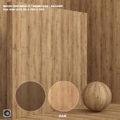Материал дерево / дуб (бесшовный) - set 71