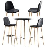 Барный стол и стул Jysk Jonstrup