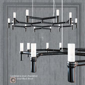 Chandelier EQUINOX CHANDELIER SMALL BLACK