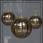 Pendant lamp Hector Finch Paola Pendant Marrone Gold Small