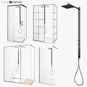 Set of shower cabins Radaway set 46