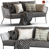Globewest Malaga Sofa