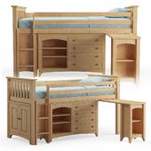 Julian Bowen Cameo Sleep Station Wood