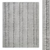 Performance Tassel-Stripe Handwoven Flatweave Rug RH