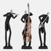 Uttermost Musicians Decorative Figurines