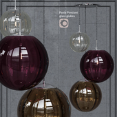 Pendant lamp Hector Finch Paola Chrome Palantir Pendant 3 Bubble