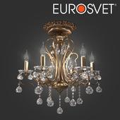 OM Chandelier with crystal Eurosvet 12505/6 Ernin