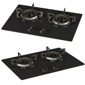 Eldig two gas hob