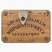 Ouija Board and Planchette