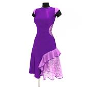 Тренировочное платье для латиноамериканских танцев