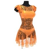 Платье для латины с гипюром