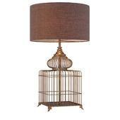 Table lamp Bronze trap for Sultan