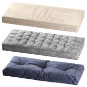 Seat pillows set 001