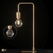 Cb2 - Antique Brass Arc Table Lamp