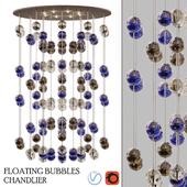 Floating Bubbles chandelier Studio Bel Vetro