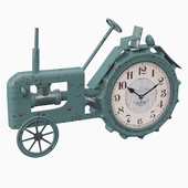 Tractor tabletop clock
