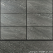 Azuliber Arkon Antracita 500x1000
