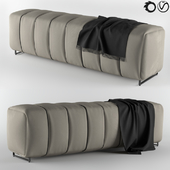 Bed Stool-Square Pouf