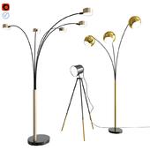 Floor Lamps Set 02