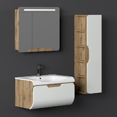 Nplus Golf 80 Bathroom Cabinet Set