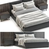 Dark bed