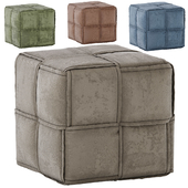 West Polyester Ottoman