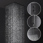 Deluge Shower Set