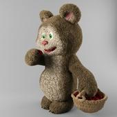 Bear and raspberry