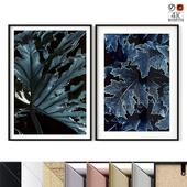 "Poster Set ""Winter Leaves"""