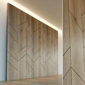 Стеновая панель из дерева. Декоративная стена. 7