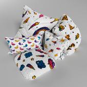 Soft pillows Rainbow