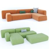 La Cividina. Suiseki sofa.