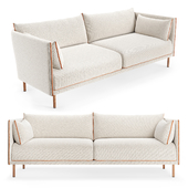 Hay Silhouette three-seater sofa