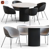 Globewest Benjamin Table and Duke Chair