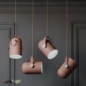 Warmly - Modern Nordic Angled Drop Lights - 7 Colors