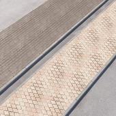 2 sidewalk options with road set_12