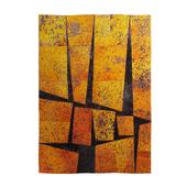 Carpet blocks orange