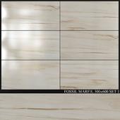 Azuliber Fossil Marfil 300x600 Set 1