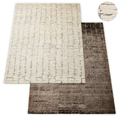 Oscillo Hand-Knotted Wool Rug RH Collection